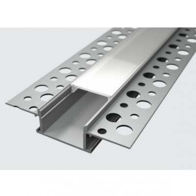 Profil za LED traku ugradni 5 + mliječni poklopac, 2m